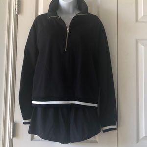 J.Crew women's zip front sweatshirt NWT size M
